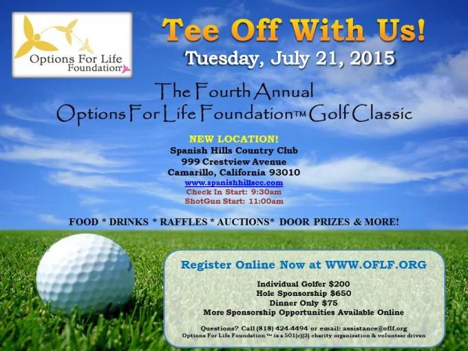 OFLF 2015 Golf Invite